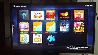 Hướng dẫn thêm tài khoản fshare vào TV Box