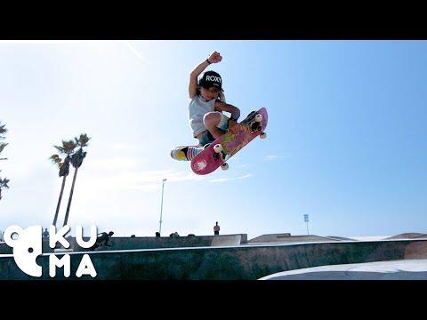 Xxx Mp4 Awesome Kids 9 Year Old Pro Skateboarder Destroys The Venice Skatepark 🤯 3gp Sex