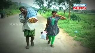 The Real Satyabaan: Husband Carries Wife's Body For 10Km