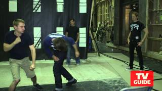 Gotham stunt coordinator Norman Douglass teaches us how to (fake) fight!