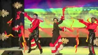 Senorita Spanish dance performed by Redlands Staffs in ASHLYN'S DAY 2014