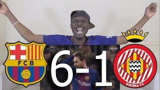 Barcelona Fan React To ● Barcelona Vs Girona 6-1 All Goals