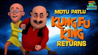 Motu Patlu Kung Fu Returns | Hindi Cartoons | Motu Patlu Ki Jodi | Movie | WowKidz Movies