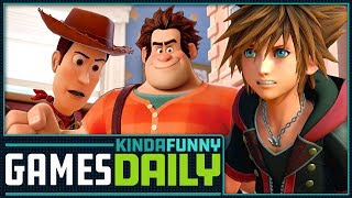 Kingdom Hearts 3 Release Date Coming Soon - Kinda Funny Games Daily 05.18.18