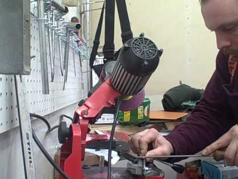 Chainsaw Sharpening Primer