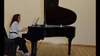Angelika Papanikolaou, piano - E. W. Velte, Nachtstück für Klavier
