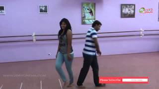 Actress Anjali Dance Practice moments www.2daycinema.com