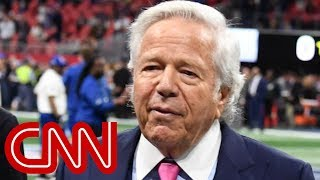 Patriots owner Robert Kraft accused of soliciting sex