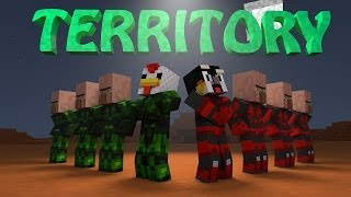 Minecraft | RED VS GREEN - FIGHT FOR TERRITORY
