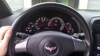 Corvette C6 electric mystery (interior)