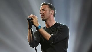 Chris Martin Performs Touching George Michael Tribute During 2017 BRIT Awards