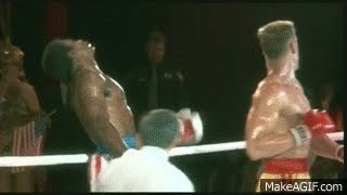 Avoid the opponents 2017 Apollo Creed deadly knock out punch