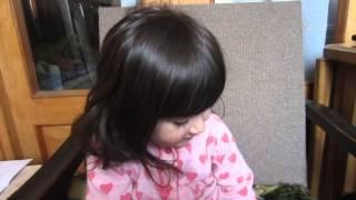 ძალიან საყვარელი ბავშვი სალომე/Очень милый ребенок Саломе/Very cute baby Salome