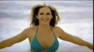 Sexy Girl Enjoying With Her Boyfriend On Beach