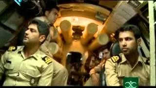 Iranian Ghadir submarine in action