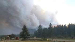 Finger-pointing as Utah wildfire grows to largest in US