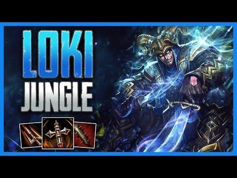 Xxx Mp4 SMITE Conquest Loki Jungle Gameplay Aggressive Loki Plays 3gp Sex