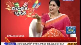 Diwali Special Chit Chat With Artist Sudha On Mahaanews Part-2