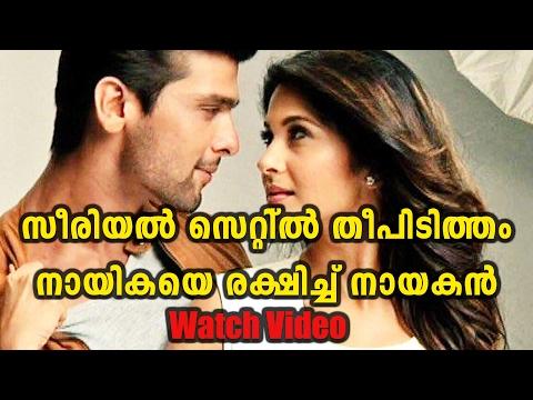 Xxx Mp4 Watch Kushal Tandon Saves Jennifer Winget From Fire Oneindia Malayalam 3gp Sex