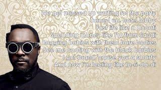 Will.i.am - Boys & Girls ft. Pia Mia (Lyrics)