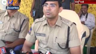 99th Battalion Rapid Action Force Police March Attracts In Nalgomda
