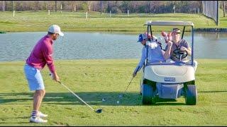 Golf Trick Shots   Brodie Smith with Bryan Bros