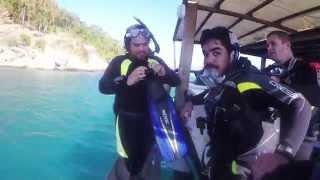 Vídeo Aventura de mergulho Marcos Silva
