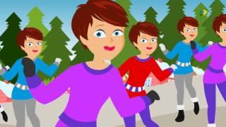 12 dias de Natal   Canção natal para miúdos   Kids Xmas Song   12 days of Christmas   Kids Video