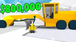 ROBLOX SNOW SHOVELING SIMULATOR *CRAZY NEW VEHICLE*