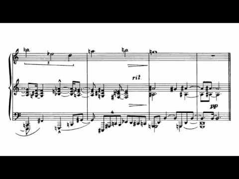 Charles Ives - Three-Page Sonata [Version A]