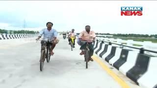 Longest Bridge of Odisha Inaugurated Over Kathajodi River In Cuttack
