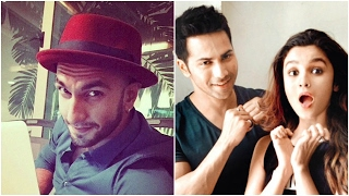 Ranveer To Turn Lyricist | Varun Made Alia Cry On The Set