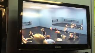 Tiny Miss Ballerina's 1st class with Coastal Performing Art