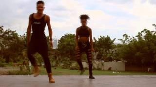 Chinn Overload Skankaz & Sabrina Berryz - Dancehall Routine