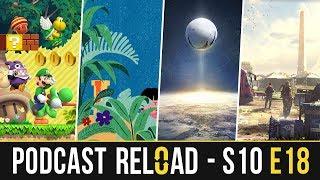 Podcast Reload: S10E18 – New Super Mario Bros. U Deluxe, Bungie y Activision, The Division 2 y Epic