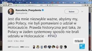 Pologne : Duda signe la loi sur la Shoah