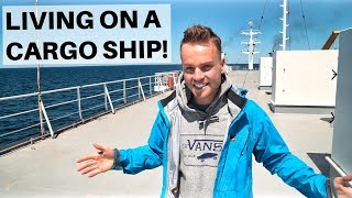 LIVING ON A CARGO SHIP -  Caspian Sea Ferry