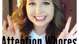 Types of Attention Seekers/ Attention whores Rant