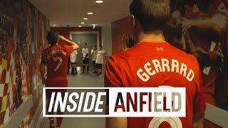 Inside Anfield: Liverpool 4-3 Real Madrid | Carlos & Figo in new-look tunnel | LEGENDS EDITION