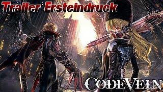 Code Vein Trailer Ersteindruck! Unsere Meinung zum Game und Fragen an EUCH! ;) Alles nur Dark Souls?