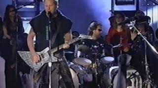 Metallica - VH1 Music Awards [2000.11.30] Full T.V. Broadcast