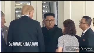 ترامپ و کیم جونگ اون /دوبله مشهدی جدید Mashhadi funny
