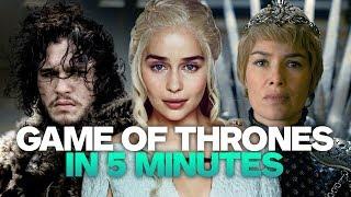 Game of Thrones Recap in 5 Minutes