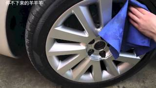 How To Plasti Dip Your Wheels / Rims without Removing them. Matte Black by Caswell Australia