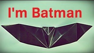 Murciélago de papel - Origami Bat