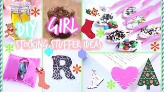 ❄ DIY Stocking Stuffers for Girls ❄