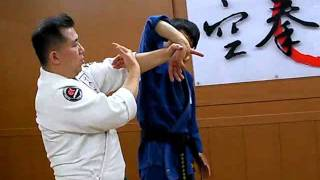 (87)Twist Wrist Lock & Shoulder Lock Combination(Korean Martial Arts)
