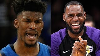 Best 2018 2019 NBA Storylines! Jimmy Butler! Warriors 3 Peat? New Lakers??