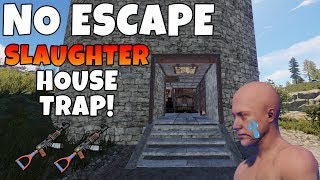RUST   NO ESCAPE *TRIP WIRE* SLAUGHTER HOUSE TRAP BASE! *Christmas Update*