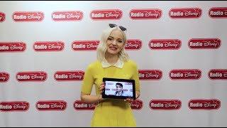 Dove Cameron watches Thomas Doherty's Bad Pirate Joke   Descendants 2   Radio Disney
